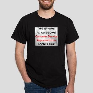 awesome customer service representati Dark T-Shirt