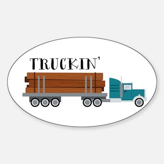 Truckin Decal