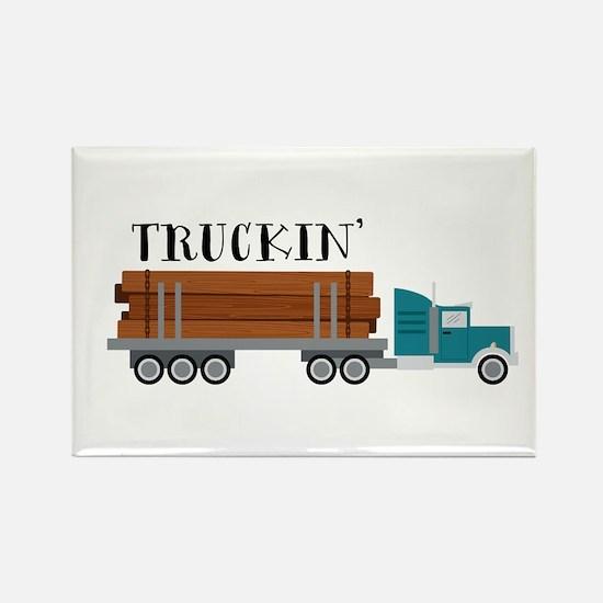 Truckin Magnets
