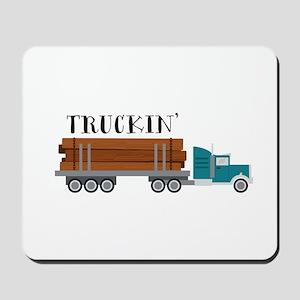 Truckin Mousepad