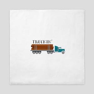 Truckin Queen Duvet