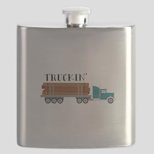 Truckin Flask