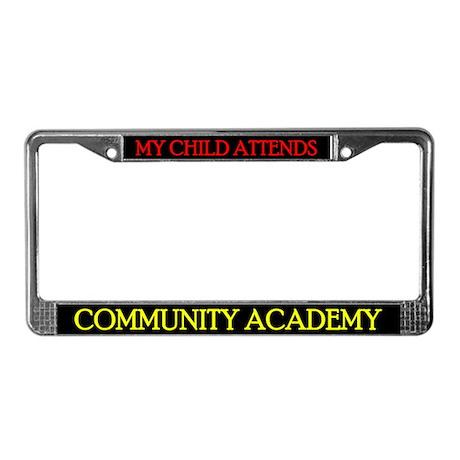 CAPCS License Plate Frame