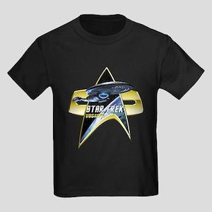 StarTrek Vogager Com badge 2 T-Shirt