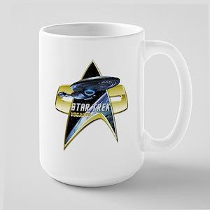 StarTrek Vogager Com badge 2 Mugs