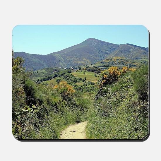 Mountains on El Camino near O'Cebreiro Mousepad