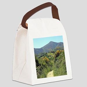 Mountains on El Camino near O'Ceb Canvas Lunch Bag