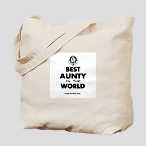 The Best in the World – Aunty Tote Bag