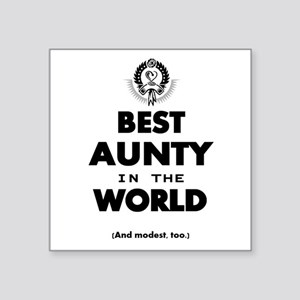 The Best in the World – Aunty Sticker