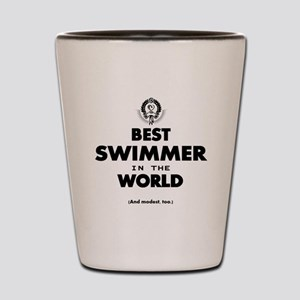 The Best in the World – Swimmer Shot Glass