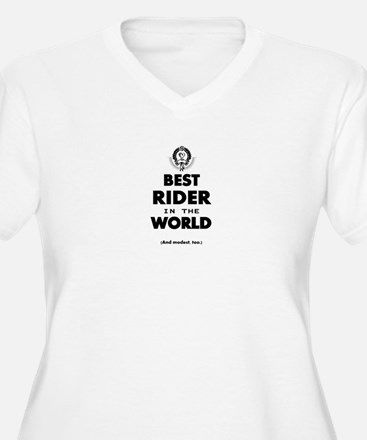 The Best in the World – Rider Plus Size T-Shirt