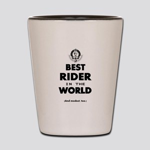 The Best in the World – Rider Shot Glass