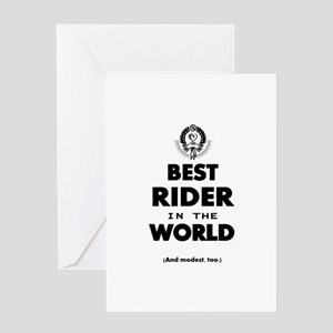 The Best in the World – Rider Greeting Cards