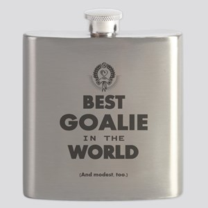 The Best in the World – Goalie Flask
