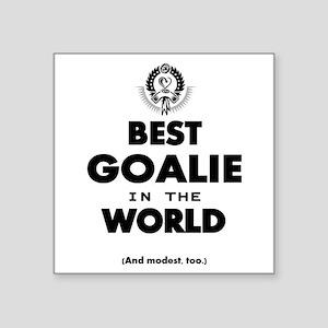 The Best in the World – Goalie Sticker