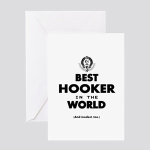 The Best in the World – Hooker Greeting Cards