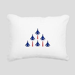 MILITARY JETS Rectangular Canvas Pillow