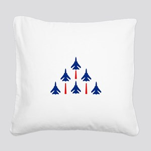 MILITARY JETS Square Canvas Pillow