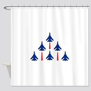 MILITARY JETS Shower Curtain