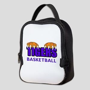 Tigers Basketball Neoprene Lunch Bag