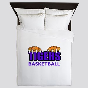 Tigers Basketball Queen Duvet