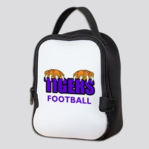 Tigers Football Neoprene Lunch Bag