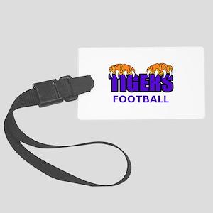 Tigers Football Luggage Tag