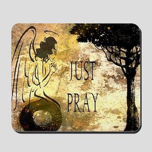 Praying Angel Mousepad
