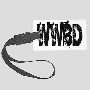 WWBD 1 Large Luggage Tag