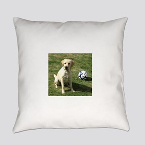 Yellow Lab Everyday Pillow