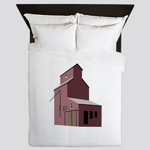 GRAIN ELEVATOR Queen Duvet