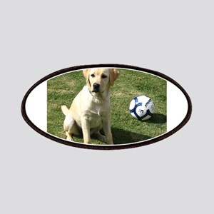 Yellow Lab Patch