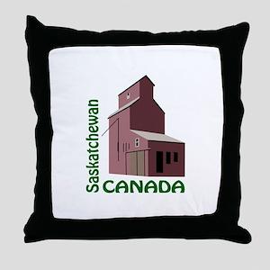 SASKATCHEWAN CANADA Throw Pillow