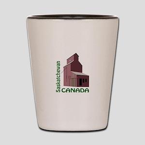 SASKATCHEWAN CANADA Shot Glass
