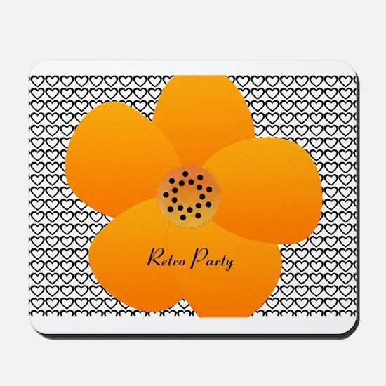 Bright Anemone Flower Mousepad