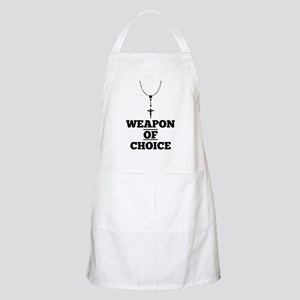 Weapon of Choice Apron