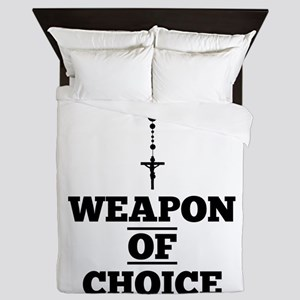 Weapon of Choice Queen Duvet