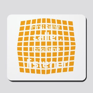 Personalized Cool Badge Mousepad