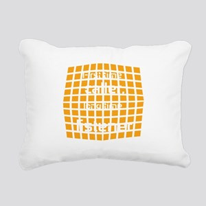 Personalized Cool Badge Rectangular Canvas Pillow