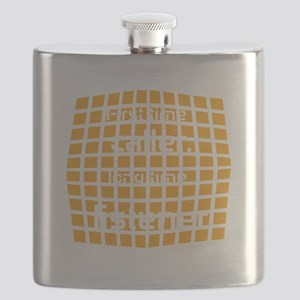 Personalized Cool Badge Flask