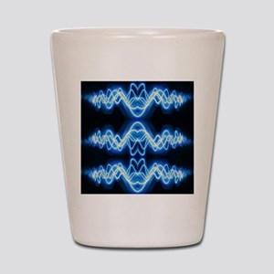 Soundwave deejay Techno music Shot Glass