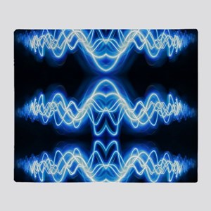 Soundwave deejay Techno music Throw Blanket
