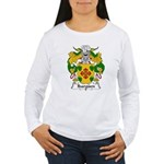 Ibarguen Family Crest Women's Long Sleeve T-Shirt