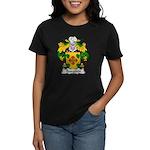 Ibarguen Family Crest Women's Dark T-Shirt