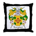 Ibarguen Family Crest Throw Pillow