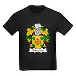 Ibarguen Family Crest Kids Dark T-Shirt