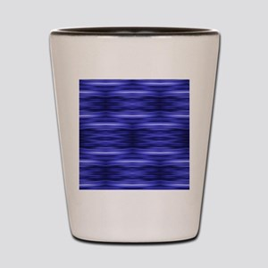 modern blue laser rays Shot Glass