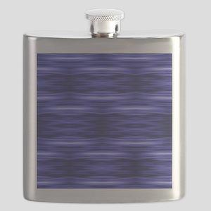 modern blue laser rays Flask