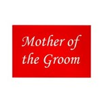 Mother of the Groom Rectangle Magnet (100 pack)