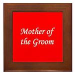 Mother of the Groom Framed Tile